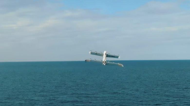 JournalduGeek: Ce drone est propulsé grâce à de l'hydrogène.
